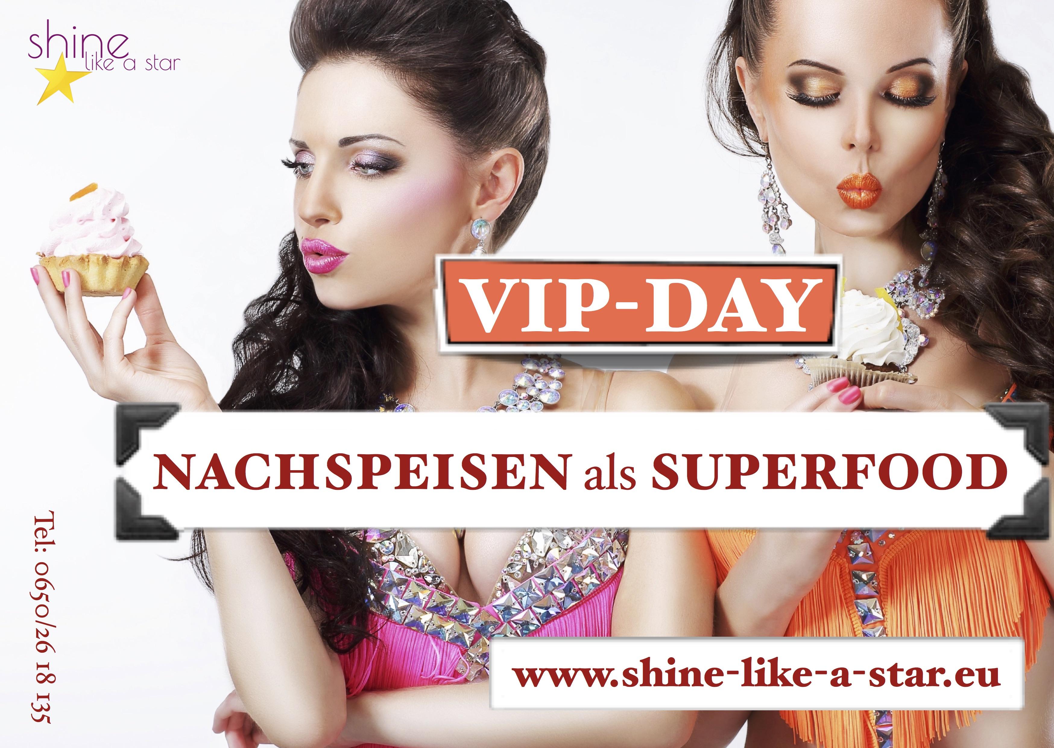 Flyer VIP-Day Nachspeisen