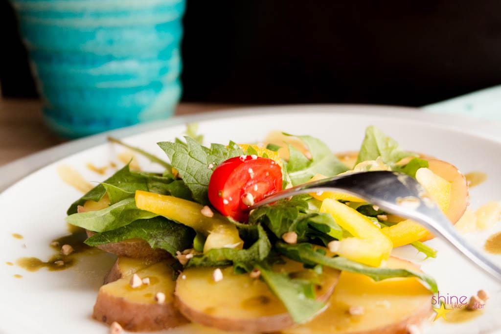 Brennessel-Kartoffel-Salat 2