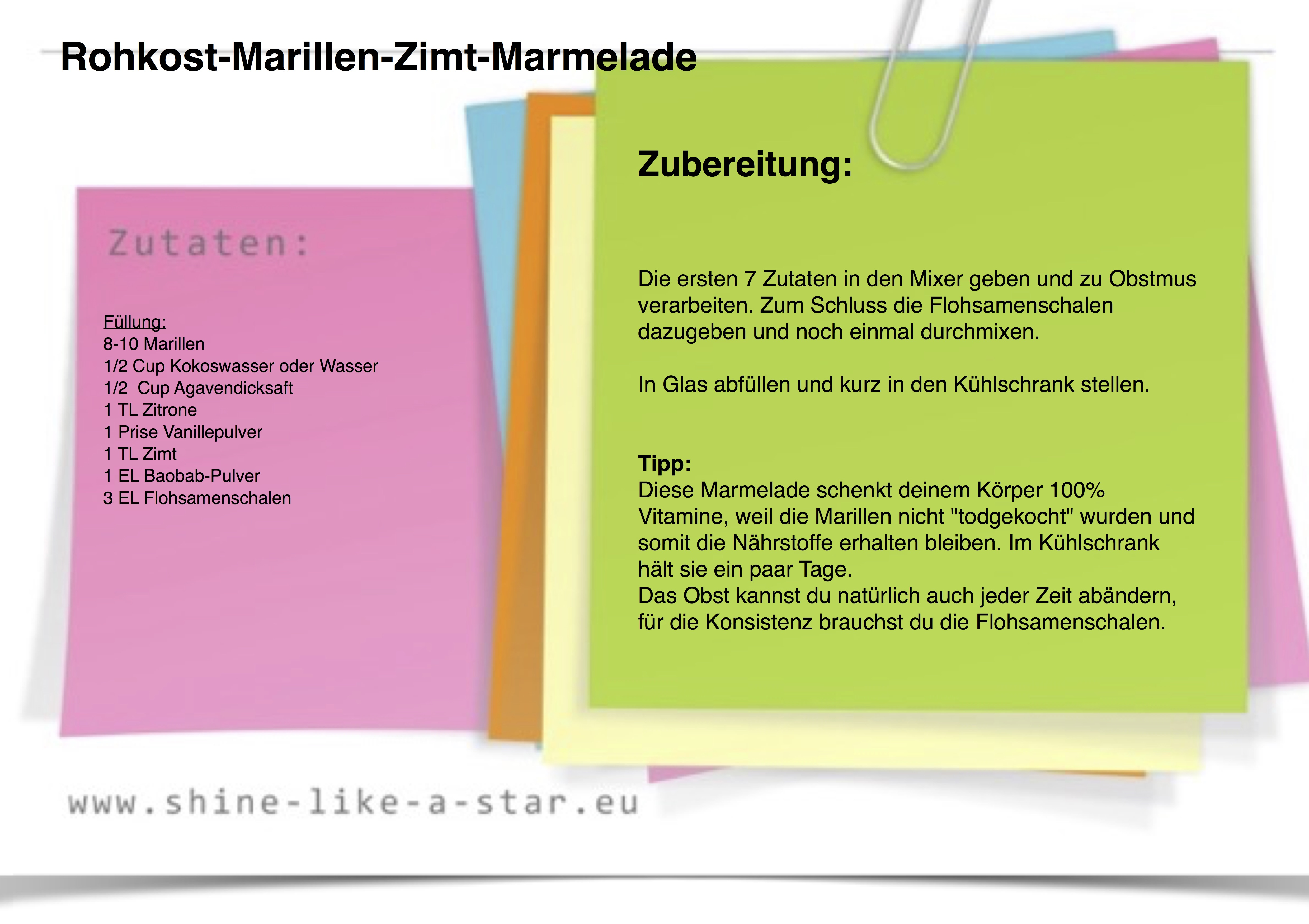 Rohkost-Marillen-Zimt-Marmelade